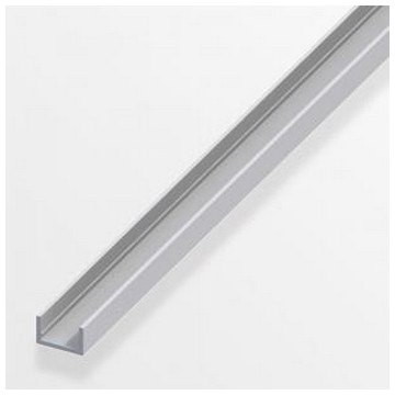 Alfer Профиль U-подобный аллюминиевый 10x16,5x1,5мм, 2м(Арт.144588)