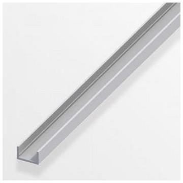 Alfer Профиль U-подобный аллюминиевый 10x19,5x1,5мм, 2м(Арт.144589)
