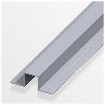 Alfer Профиль U-подобный аллюминиевый 7,5x20,5x1,0мм, 1м(Арт.144546)