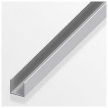 Alfer Профиль U-подобный аллюминиевый 8x10,1x1,3мм, 2м(Арт.144547)