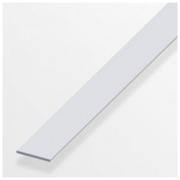 Alfer Рейка плоская алюминиевая 25x2,5мм, 1м(Арт.144558)