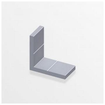 Alfer Уголок алюминиевый 19,5x4,0x11,5мм(Арт.144687)