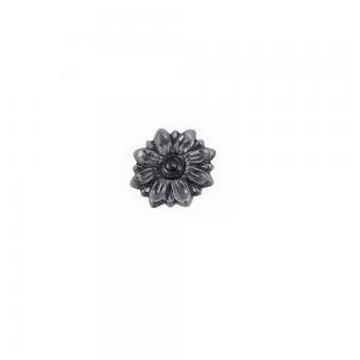 Arteferro Цветок литой  80мм, отверстие М10, Железо(Арт.144473)