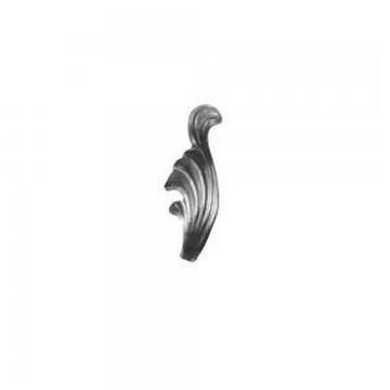 Arteferro Листок литой 40*110мм, толщина 3мм, левый, Железо(Арт.144512)
