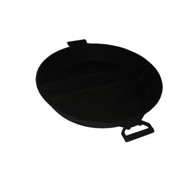 Чугунная сковорода диаметром 60 см с перегородкой(Арт.150036)