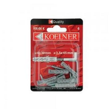 Koelner Дюбель распорный с прямым крюком Koelner 14х70мм , 2шт(Арт.144913)