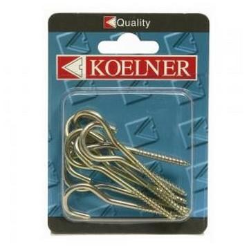 Koelner Крюк потолочный Koelner М5,0мм , 8шт(Арт.145072)