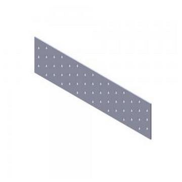 Кольчуга Пластина перфорированная 40х120х2,0мм(Арт.144635)