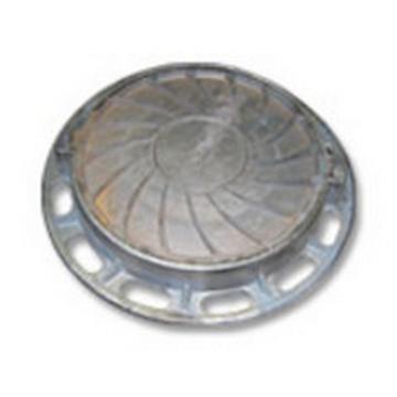 Люк чугунный канализационный типа «Т» (С-250) 1-60 ГОСТ 3634-99.(Арт.149936)