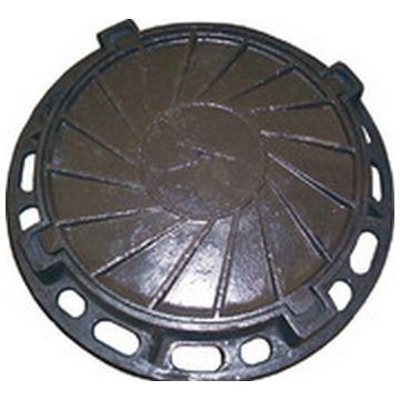 Люк чугунный канализационный типа «Т» (С-250) 1-60 ГОСТ 3634-99 4-х ушковый .(Арт.149940)