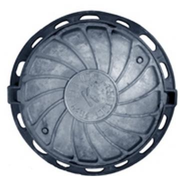 Люк чугунный канализационный типа «Т» (С-250) 2-60 ГОСТ 3634-99 с запорным устройством.(Арт.149938)