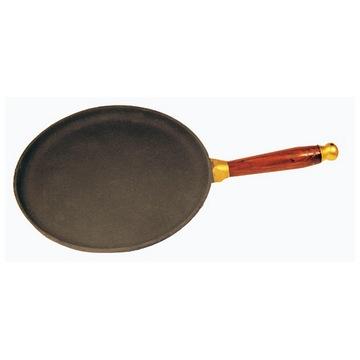 Сковорода блинная 24 см с деревянной ручкой(Арт.150072)