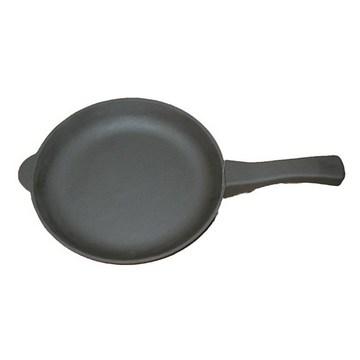 Сковорода чугунная 22 см  с чугунной  ручкой(Арт.150075)