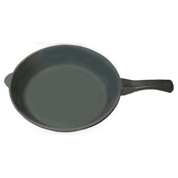 Сковорода чугунная 28 см с чугунной ручкой(Арт.150076)