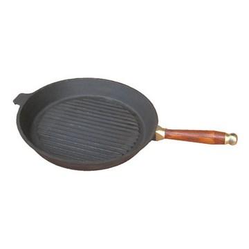 Сковорода гриль круглая 30 см(Арт.150083)