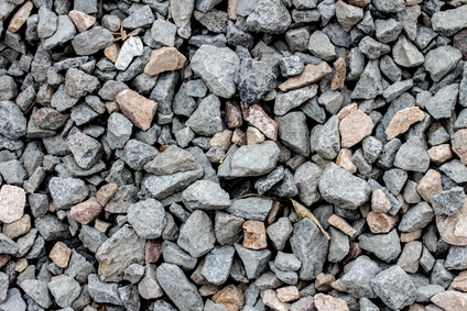 stone rock pieces crushed gravel texture
